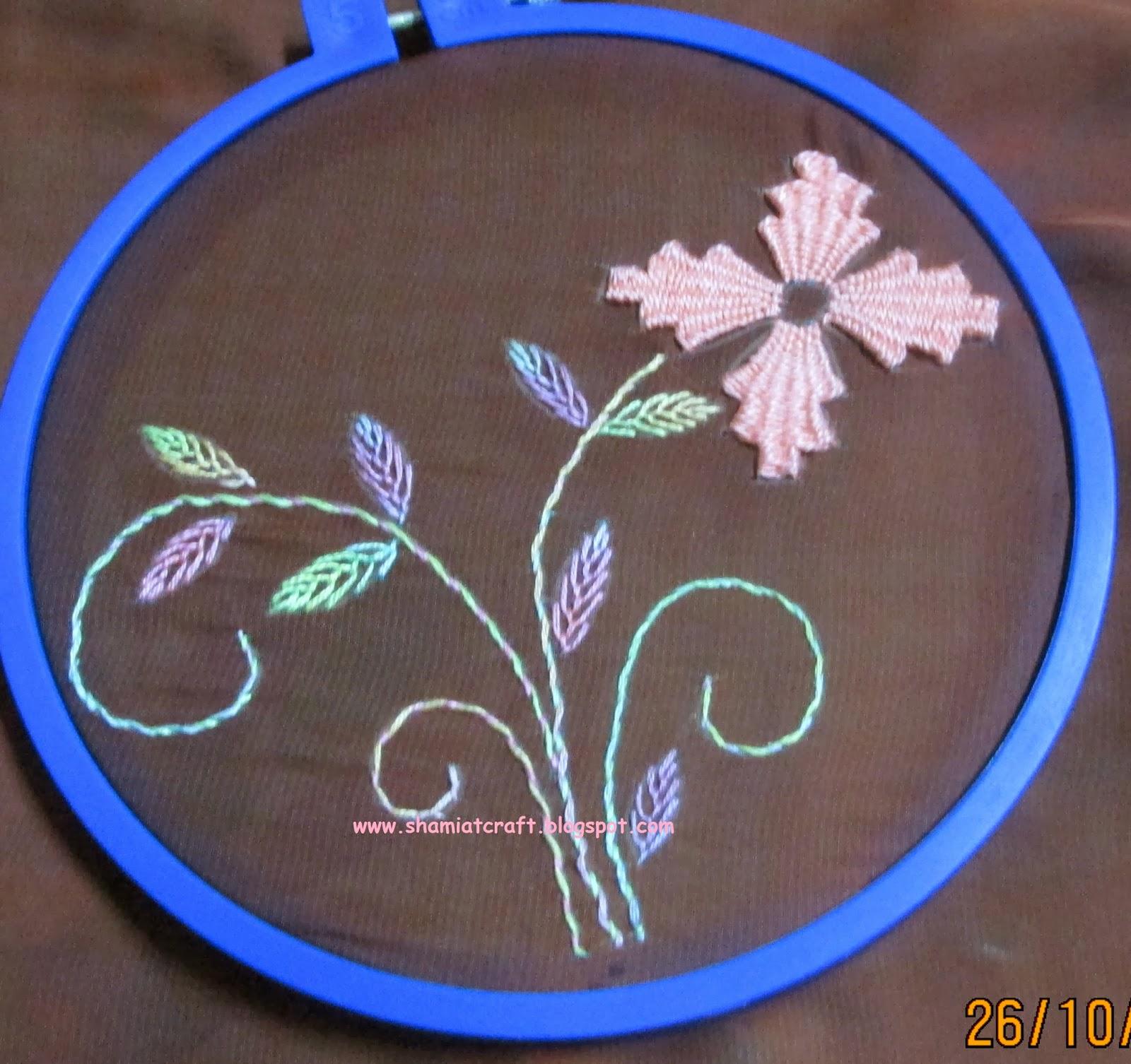 My craft works kamal kadai flower