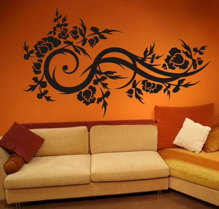 Muebles y decoraci n de interiores decoraci n de las - Decoracion murales paredes ...