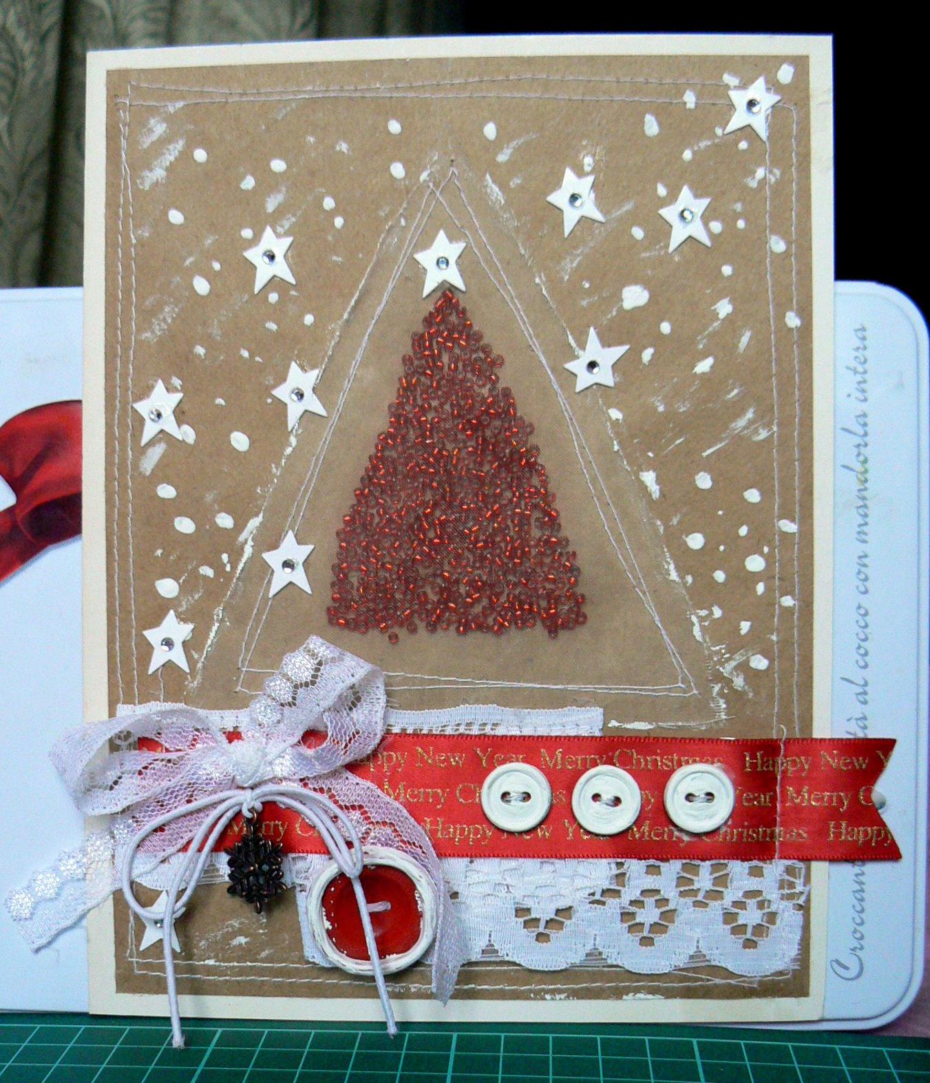 Делать открытки для нового года