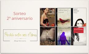 Sorteo 2º Aniv Blog Perdida entre mis libros