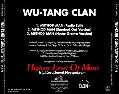 Wu-Tang Clan - Method Man-(Promo_CDS)-1993