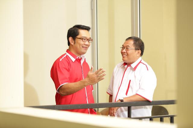Cawalkot PKS Ridwan Kamil dan Oded MD