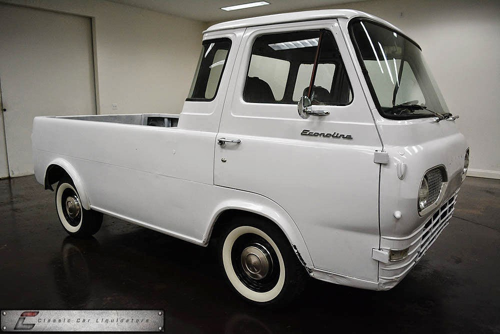 Daily Turismo: 5k: Meh-Be: 1961 Ford Econoline Pickup with 5.3 V8