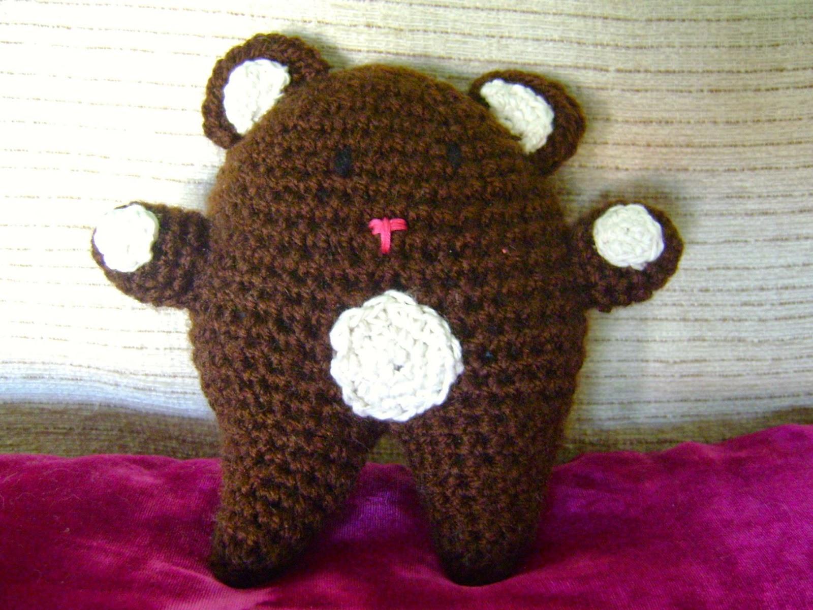 Ganchitos: Osito de amigurumi como nuestros osos de peluche de la ...