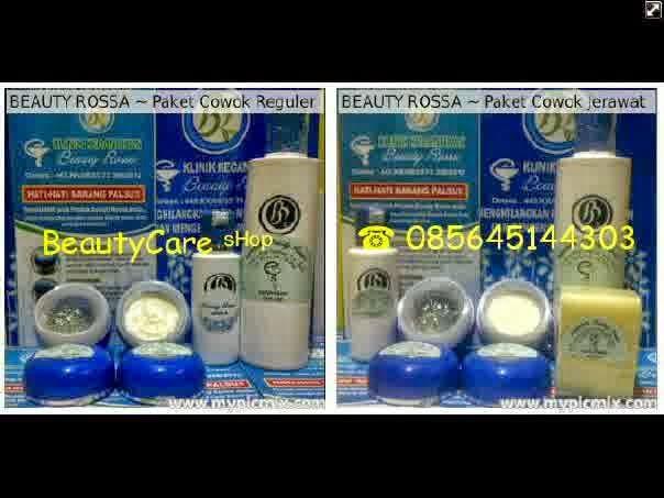 Paket Beauty Rossa Untuk Cowok ~ Tersedia Paket Normal & Jerawat
