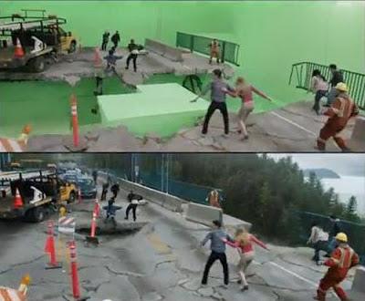 Визуальные спецэффекты из фильмов (видео)