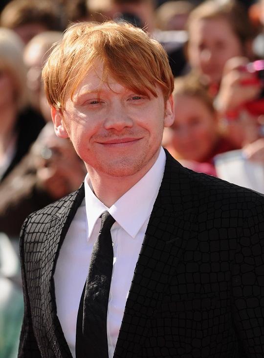 Rupert Grint Smile