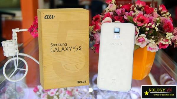 Vỏ hộp Samsung Galaxy S5 Au xịn