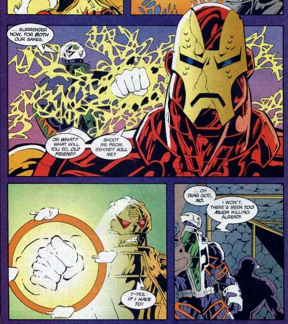 War Machine 22 War Machine Iron Man fight