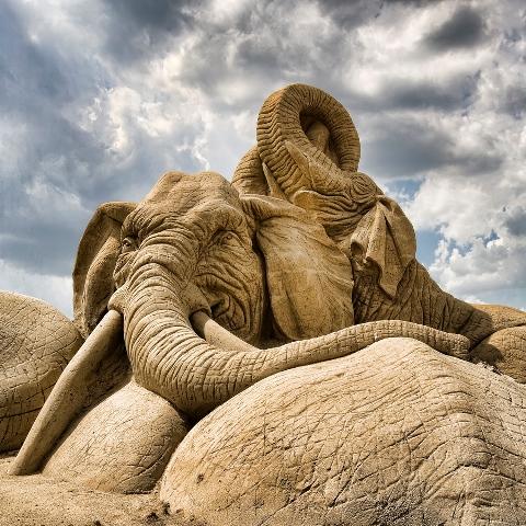 Awesome Sand Sculpture Dezignhd