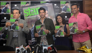Farhan Akhtar at Starweek Magazine Launch