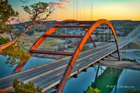 360-Overlook, Pennybacker Bridge, in Austin, Texas.