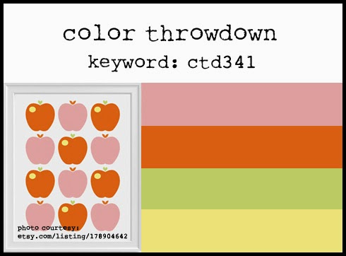 Color Throwdown 341