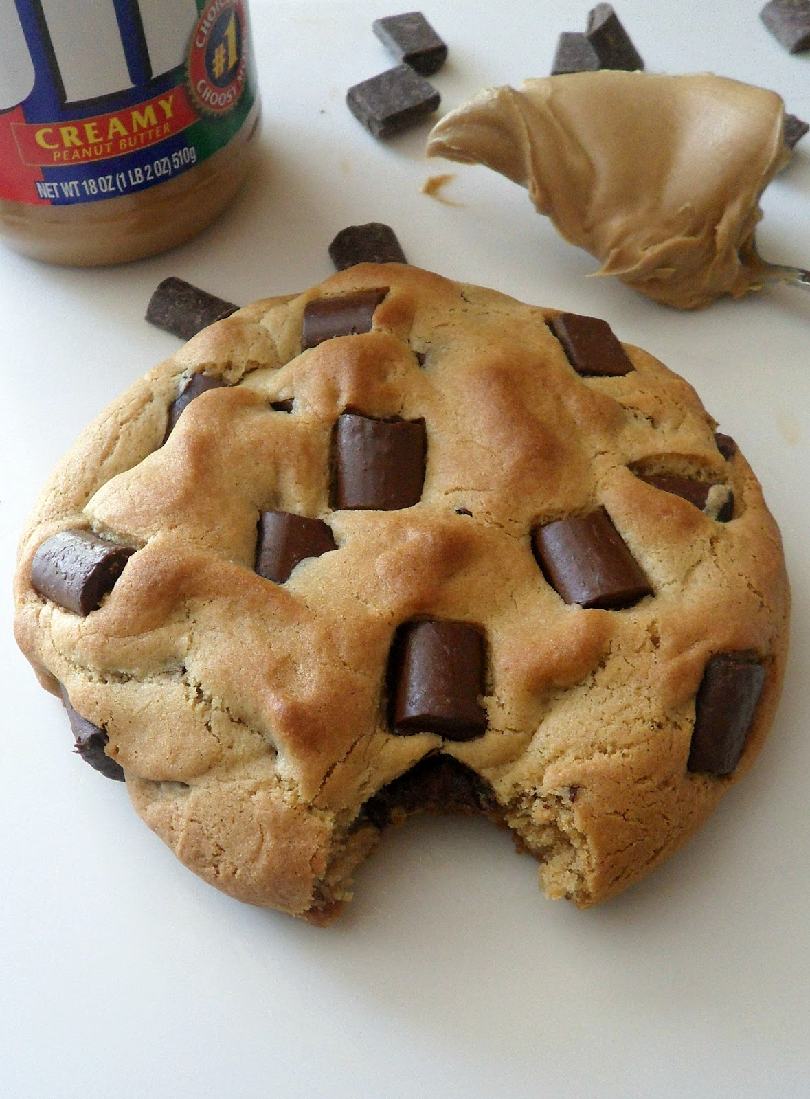Cooking to Perfection: XXL Peanut Butter Chocolate Chunk ...