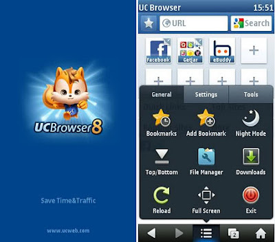 UCBrowser V8.3 (Symbian^3 Anna Belle Application) 436 KB