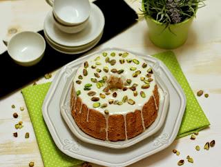 Angel Food Cake de coco i festucs. La Cuina de l'Eri