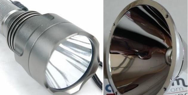 reflektor pada lampu semter merupakan aplikasi cermin cekung