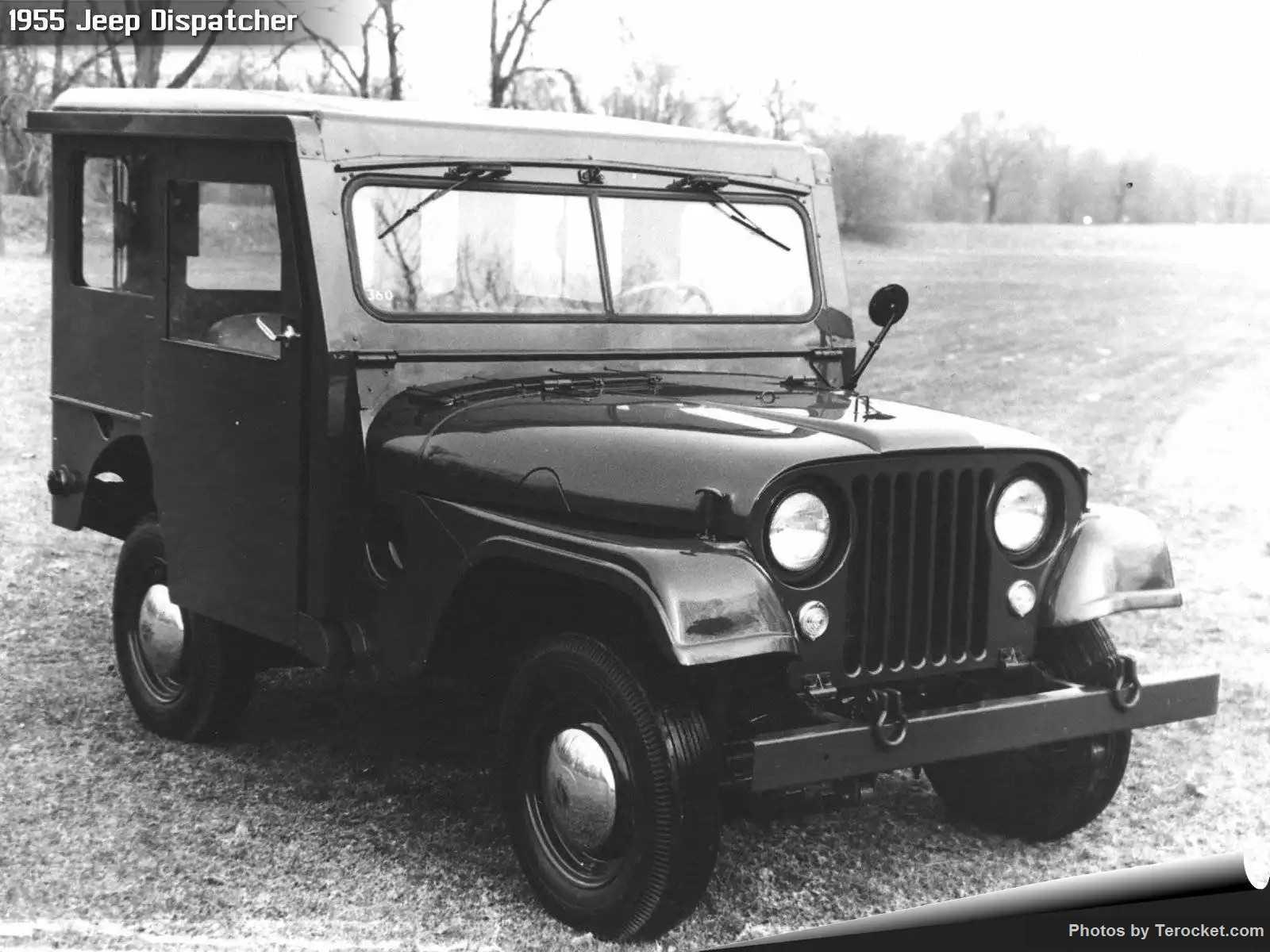 Hình ảnh xe ô tô Jeep Dispatcher 1955 & nội ngoại thất