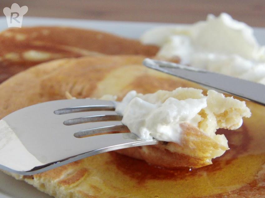 Tortitas con nata | Pancakes