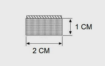 Sponge rubber seal solid 1 CM Height X 2 CM Width | Universal weatherstrip Extrusion Neoprene Strip (Per Metre)