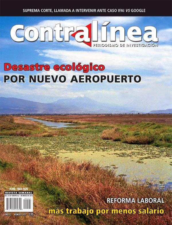 Nuevo aeropuerto devastará Lago de Texcoco