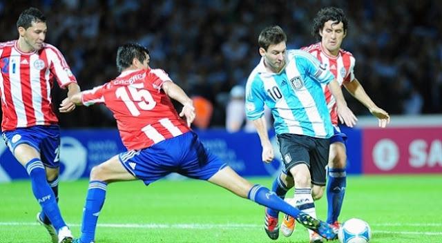 Kèo thơm cá độ Argentina vs Paraguay