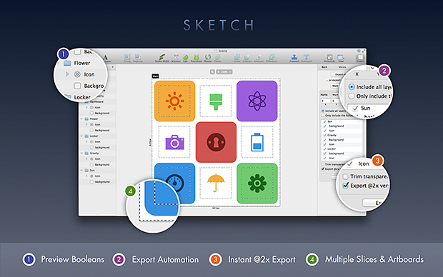 sketch user interface toolbox