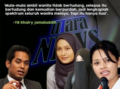 Tiga Wanita Melayu Islam Yang Masuk DAP Hanya Menjadi Pemuas Nafsu DAP Kata Menteri Ini