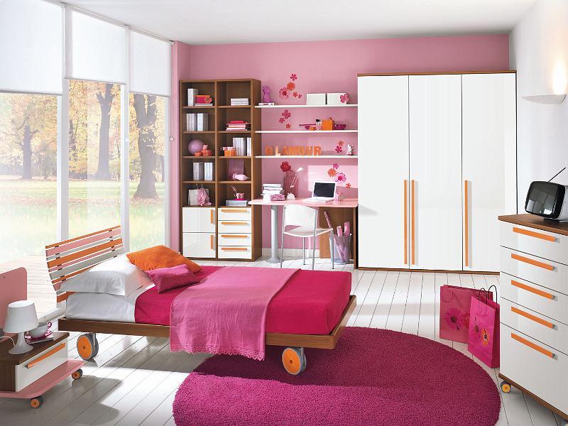 10 modernos dormitorios colombini para chicas ideas for Modelos de habitaciones
