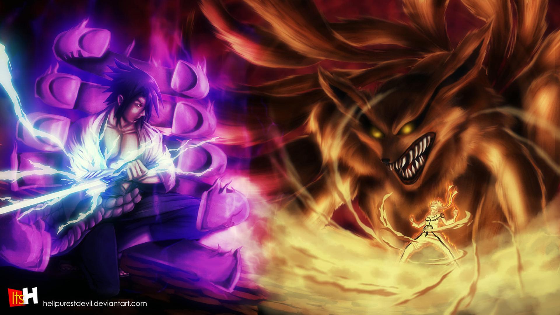 Simple Wallpaper Naruto Purple - sasuke-vs-naruto-hd-1920x1080  Trends_625220.jpg