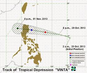 Typhoon Vinta 2013 pagasa update
