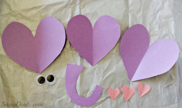 valentines day elephant craft