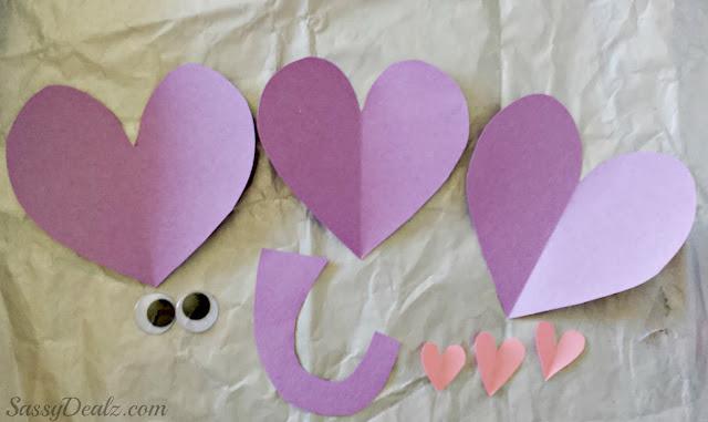 valentines day elephant craft