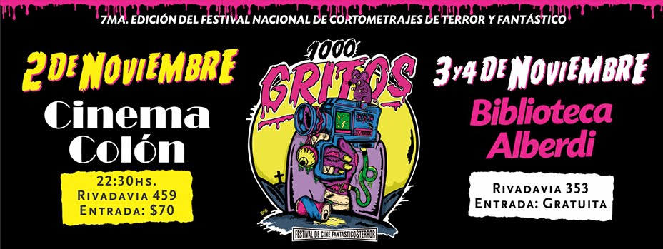 1000 Gritos Festival de Cine Fantástico y de Terror