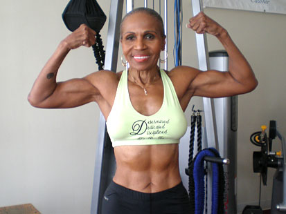 World's Oldest Female Body Builder Ernestine Shepherd