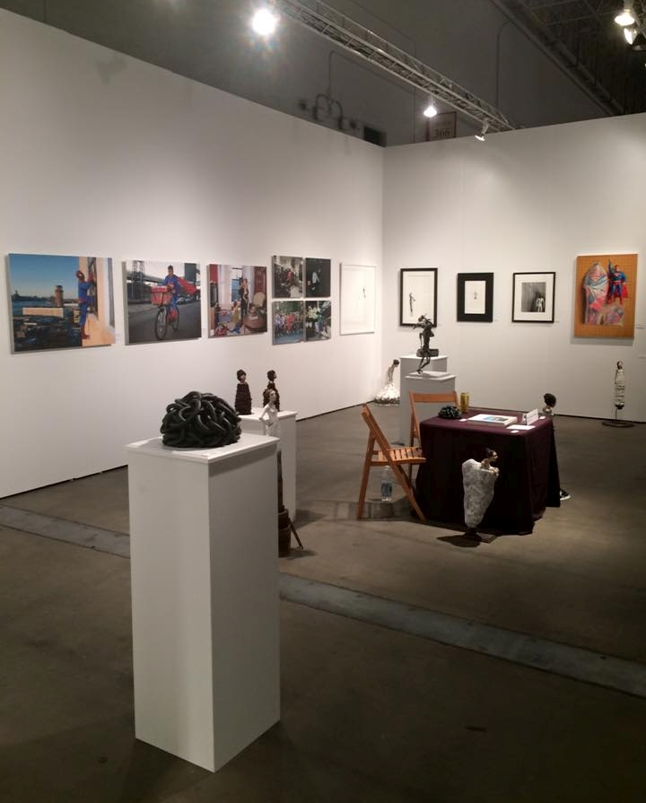 Alida Anderson Art Projects, LLC booth at SOFA Chicago 2015