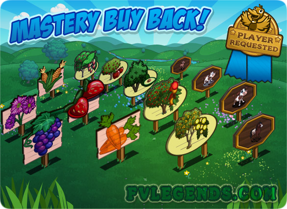 FarmVille Mastery Buy Back Loading Screen