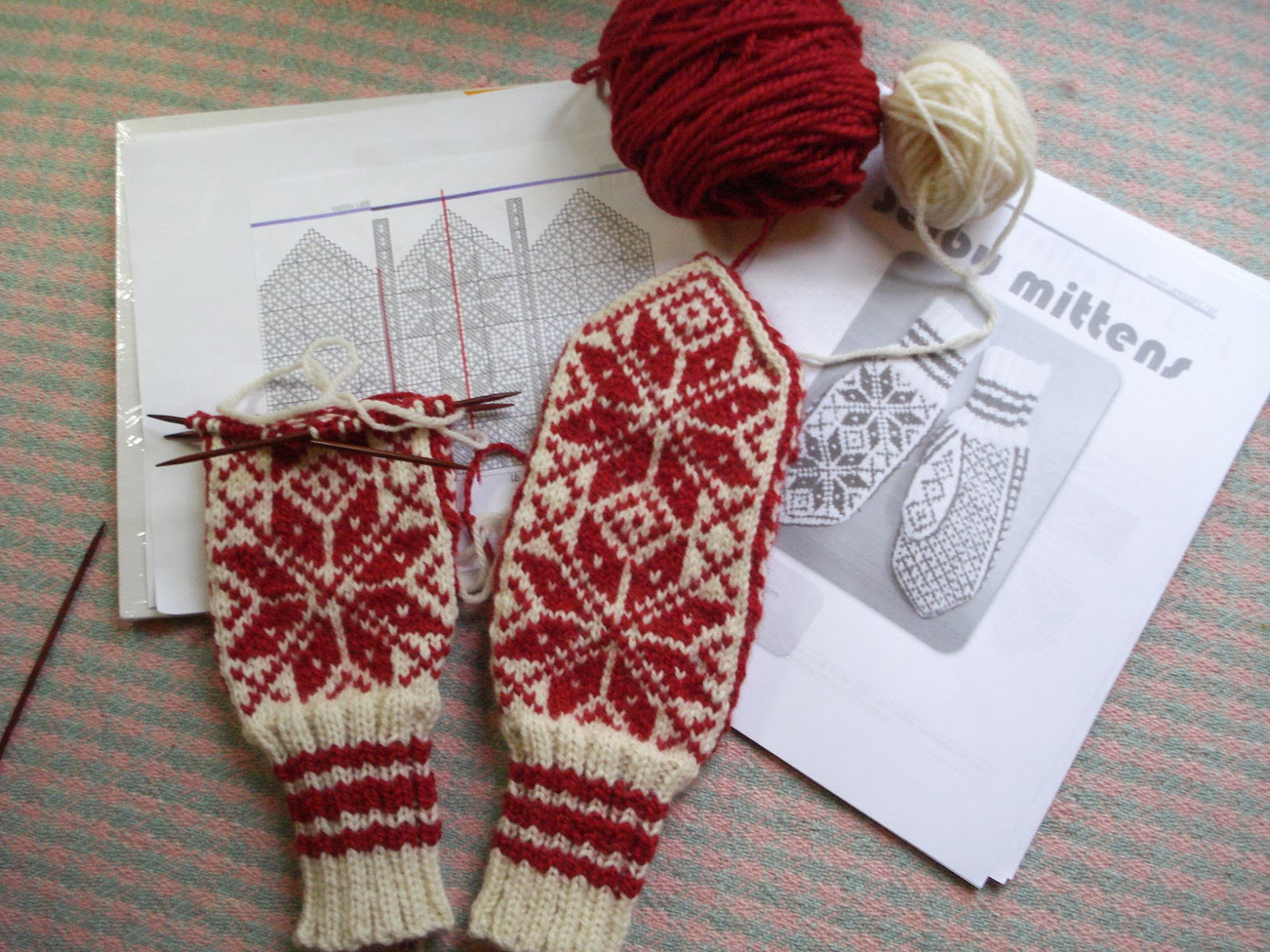 Overdue Christmas present – Norwegian Selbu Mittens | 100-Mile Wear