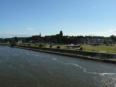 Panorama z mostu Tczewa