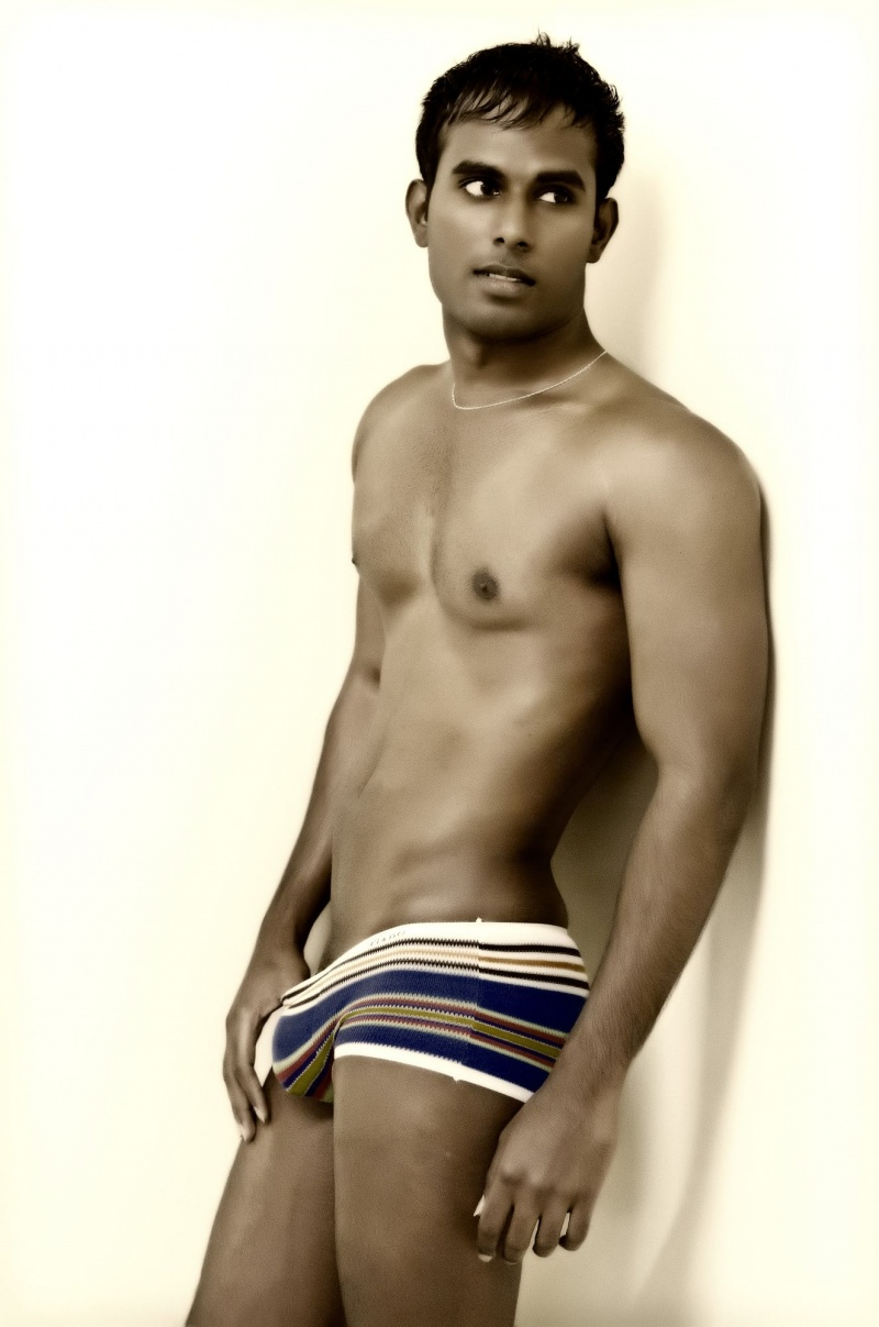 Male model indian nude