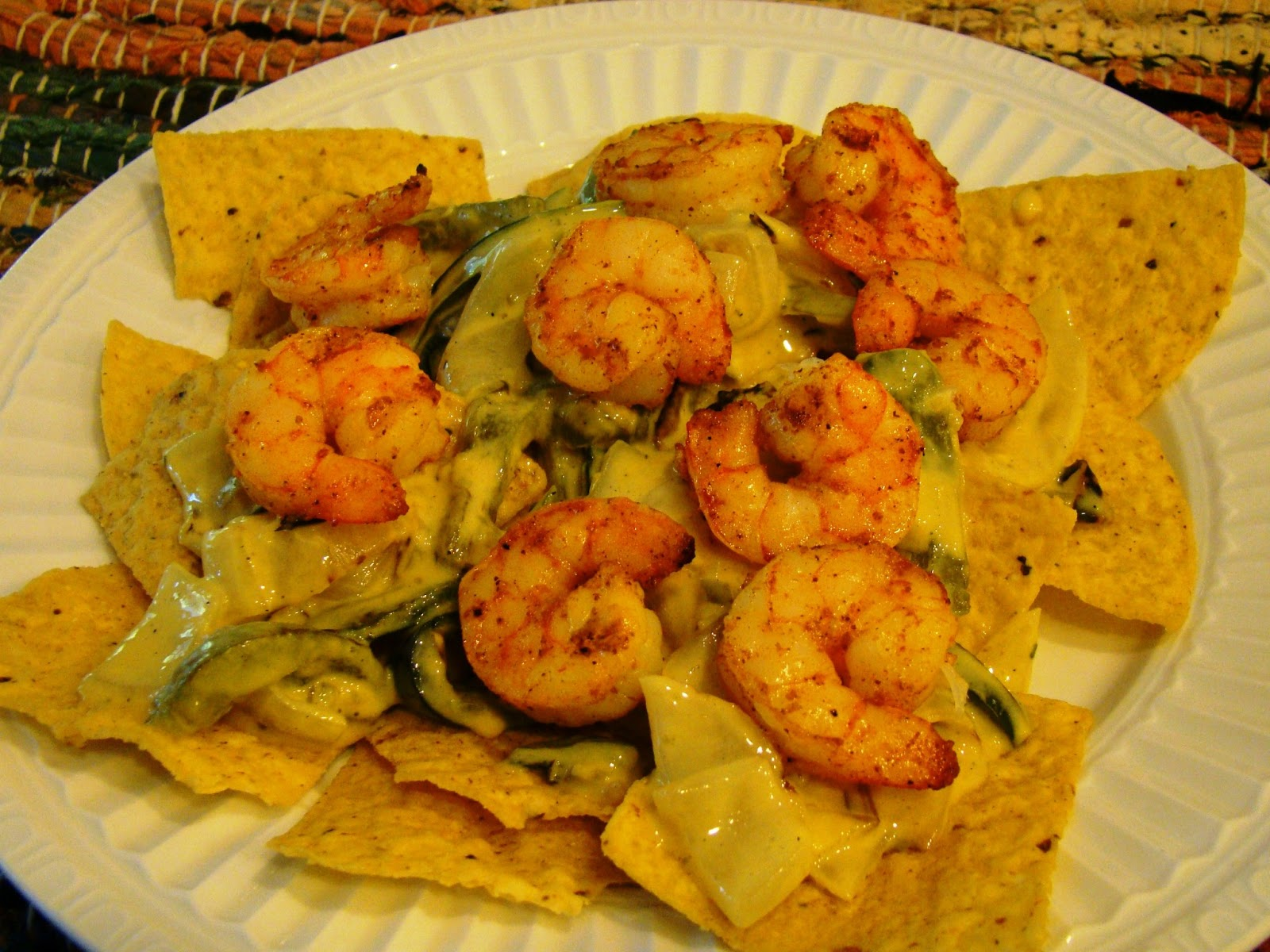 Soup Spice Everything Nice: Grilled Shrimp Nachos