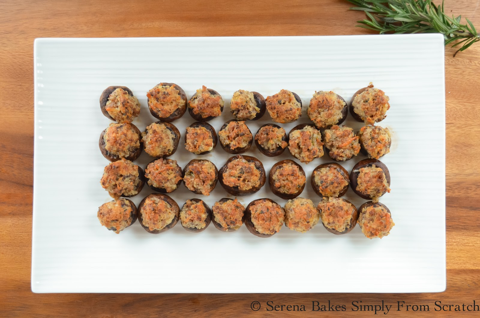 Sausage Stuffed Mushrooms with 40 other Cocktail and Appetizer Recipes to get your party started!