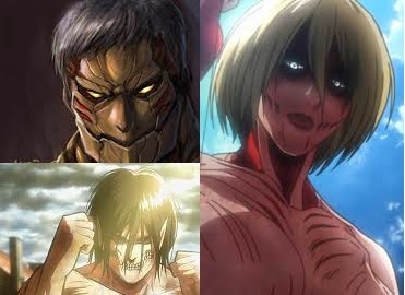 Attack on Titan Titan Cosplay Hair Part