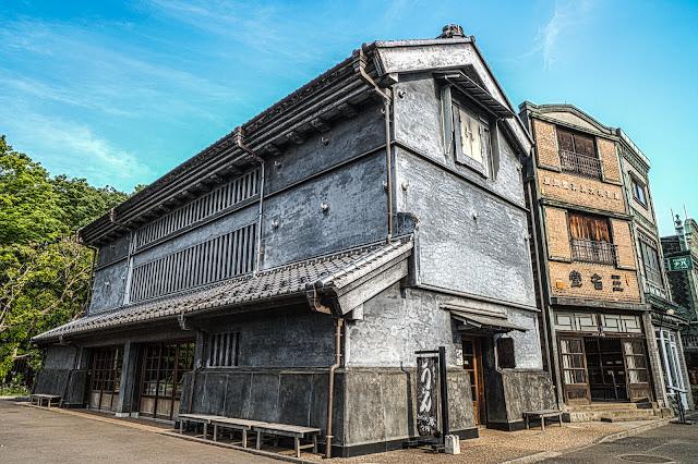 武蔵野うどん屋「蔵」のHDR写真
