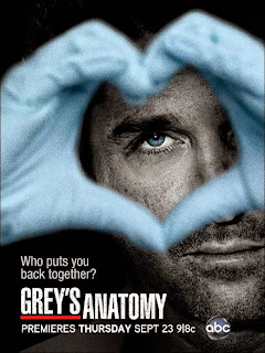 Grey's Anatomy Derek Shepherd season 8 saison 8