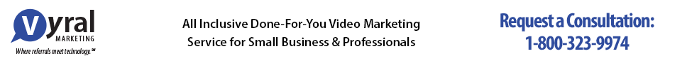 Vyral Marketing | Done-For-You Video Marketing For Business