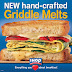 Breakfast Anytime w/ hand-crafted #GriddleMelts from @IHOP