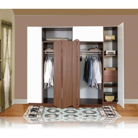 Dise o closets para dormitorios decorar tu habitaci n for Closet medianos modernos