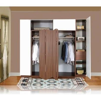Dise o closets para dormitorios decorar tu habitaci n for Closet para habitaciones