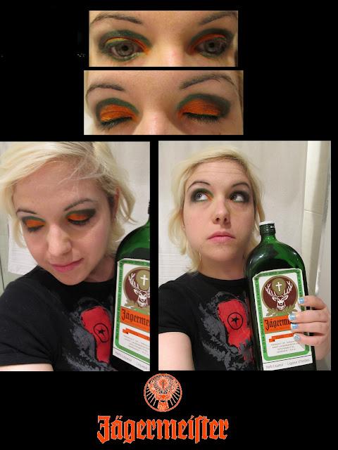 Maquillage inspiration Jagermeister